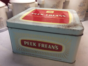 Vintage Peek Frean's & Co. Biscuit Tin
