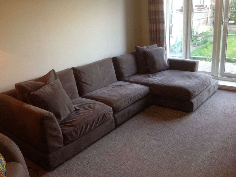 NATUZZI RHF CHAISE SOFA MINK - ANY OFFER CONSIDERED