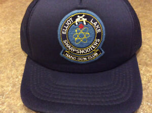 Vintage handgun club base ball hat