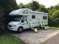 Bessacarr E495 2006, 6 berth, rear lounge, low mileage.