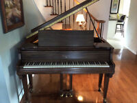 Knabe Piano Baby Grand 1908-1918 Walnut Restored