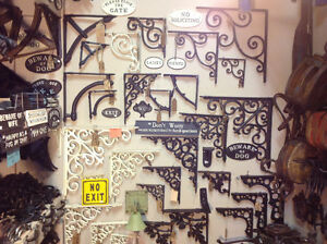 Handforged and cast hardware, hooks, latches, grates,hinges.....