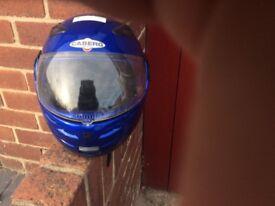 2x motorbike helmets