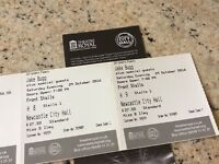 Jake Bugg 2 Tickets for 29th October