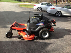 52 inch Simplicity 26 hp Zero Turn Mower