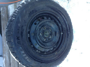 16 inch blizzack tires on Honda rims 3 months old