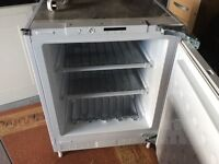 Belling integrated larder fridge
