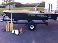 12 ft bass buggy like new used twice