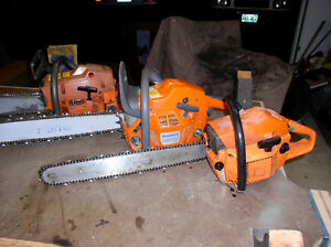 Wanted blown up chainsaws Husqvarna Jonsered stihl