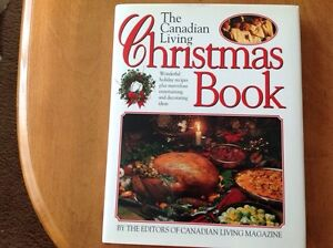 Canadian  Living Christmas cook book