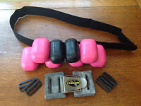 Scuba - Weight Belt - Coated & Lead Weights & Clips