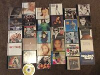 30 cd albums, various artists -njo
