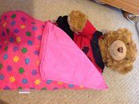Build a bear sleeping bag
