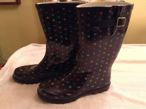 Ladies Size 10 - Rubber Boots