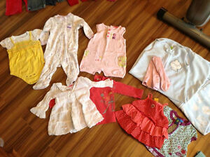 Lot de vêtements 12 mois FILLE