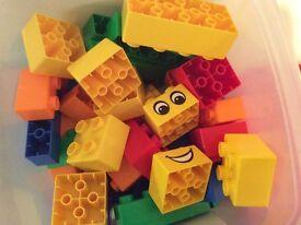 Large children's building blocks