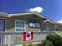 Looking for cleaning staff for Chalets & Motel in Shediac