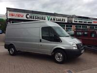12 REG TRANSIT 2.2 350 125 BHP 1 OWNER WITH FSH 200 VANS IN STOCK OPEN 7 DAY