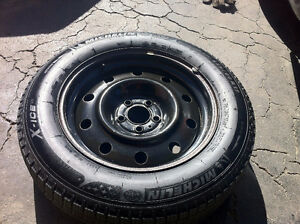 225/60/R17, Michelin X Ice3 Winter Tires With Steel Rims