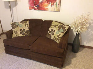 Vintage Brown Loveseat  Kitchener / Waterloo Kitchener Area image 3