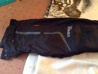 Viper rider Stella waterproof motorbike trousers size 16