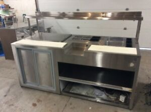 Stainless Steel Refrigerated Sandwich/Subway Table