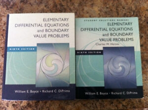 Differential Equation 9th ed + Sol