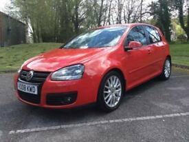 Volkswagen Golf 2.0TDI 5 DOOR 2007MY GT IN RED