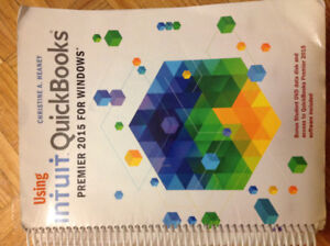 QuickBooks text book  for Accounting