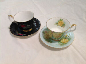 Royal Albert - BoneChina - England - Tea Cup & Saucer - $20 each