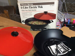WEST BEND - ELECTRIC WOK