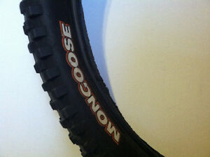 "MONGOOSE MTB TIRES - 26X2.30"" - LIKE NEW!"
