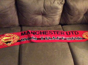 Manchester United fan scarf (pickup only)