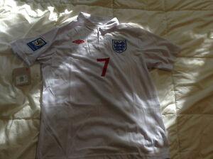 David Beckham England jersey! Kitchener / Waterloo Kitchener Area image 2