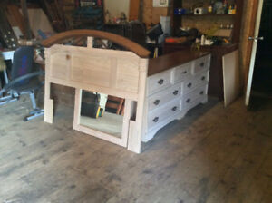 Dressers, new and old