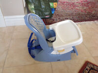 2 Feeding Chairs/Boosters (still available)