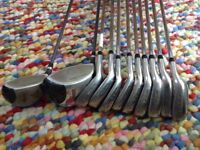 Golf clubs - Wilson 1200GC irons and woods