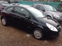 Vauxhall Corsa Life 1.2i 16v (black) 2008