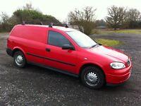 Vauxhall astra van 1.7 cdti diesel 2004 54 reg only 104.000 miles