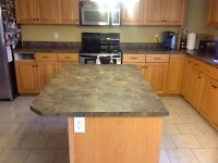 Kitchen Countertops and Fosset