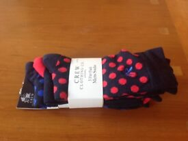 Cotton socks by Crew & Co