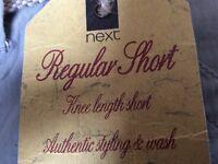 Men's Next Regular Shorts - Brand New