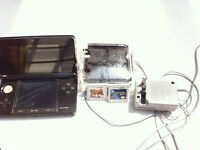 3DS Black with charger