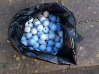 100 GOLF BALLS £10