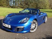 Porsche Boxster 2.7 ( 265bhp ) 2014, 2 OWNER CAR GENUINE 16,000 MILES FROM NEW