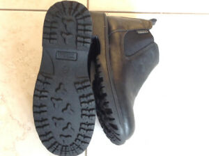 Super Elegant Black Leather Shoes Size 2.   For boys as new
