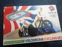 Scalextric. Velodrome cycling set
