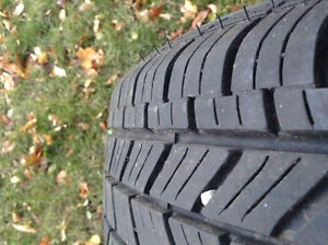 2x 185/60-15 Cooper all season tires Belleville Belleville Area image 3