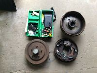 Electric Trailer Brakes with Controller