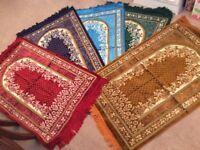 Full size Islamic masallah prayer mat beautiful unique ex quality
